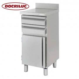 Mueble Cafetero Inoxidable DOCMC50C