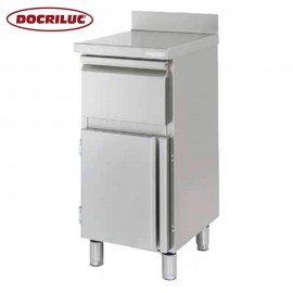 Mueble Cafetero Inoxidable DOCMC50T