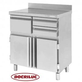 Mueble Cafetero Inoxidable DOCMC90