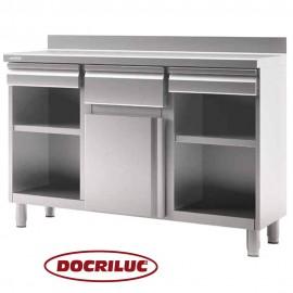 Mueble Cafetero Inoxidable DOCMC150