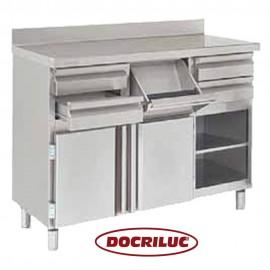 Mueble Cafetero Inoxidable DOCMC140