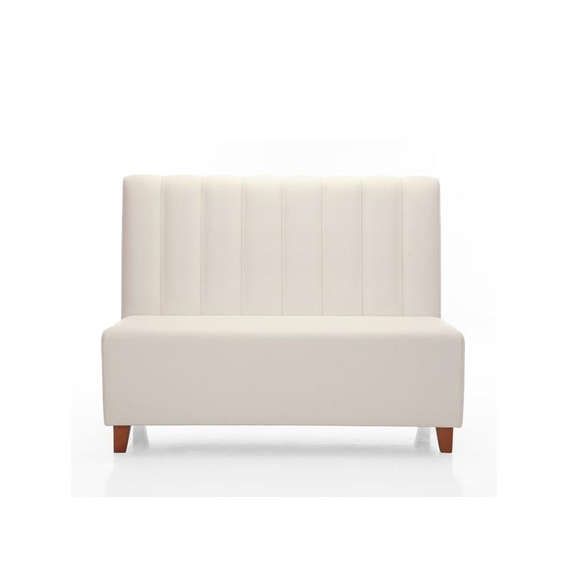 Sof banco siavalon tapizado para hosteler a con estructura de madera - Banco tapizado ...