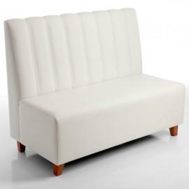 Sofá banco SIAVALON tapizado para hostelería