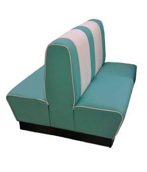 Sofá retro estilo america años 50 SIDINER doble