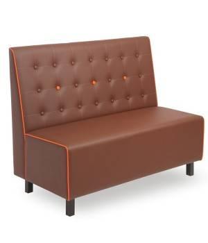 Banco siboston tapizado para hosteler a sof con respaldo abotonado - Banco tapizado ...