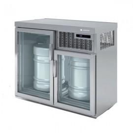 Enfriador de 2 barriles DODEB100