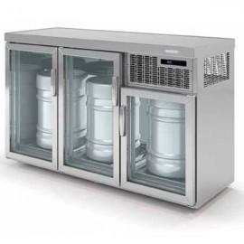 Enfriador de 3 barriles DODEB150