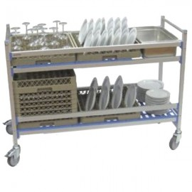 Carro de servicio de aluminio PU80902