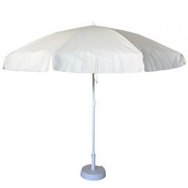 Parasol metálico acero 2.5 metros PGP1099