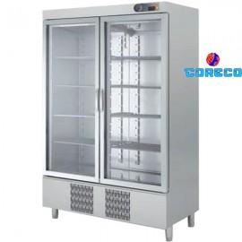 Armario Snack Refrigeración puertas cristal COCSRV1302 (139x70cm)