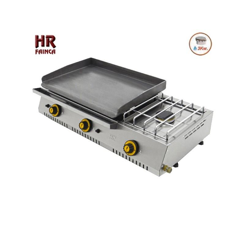 Plancha a gas industrial hrplc600ecf con fog n - Plancha industrial para cocina ...