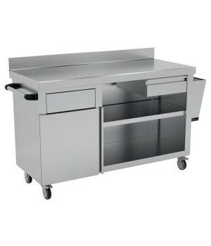 Mueble de apoyo a terraza IDN6125 1200x600x900
