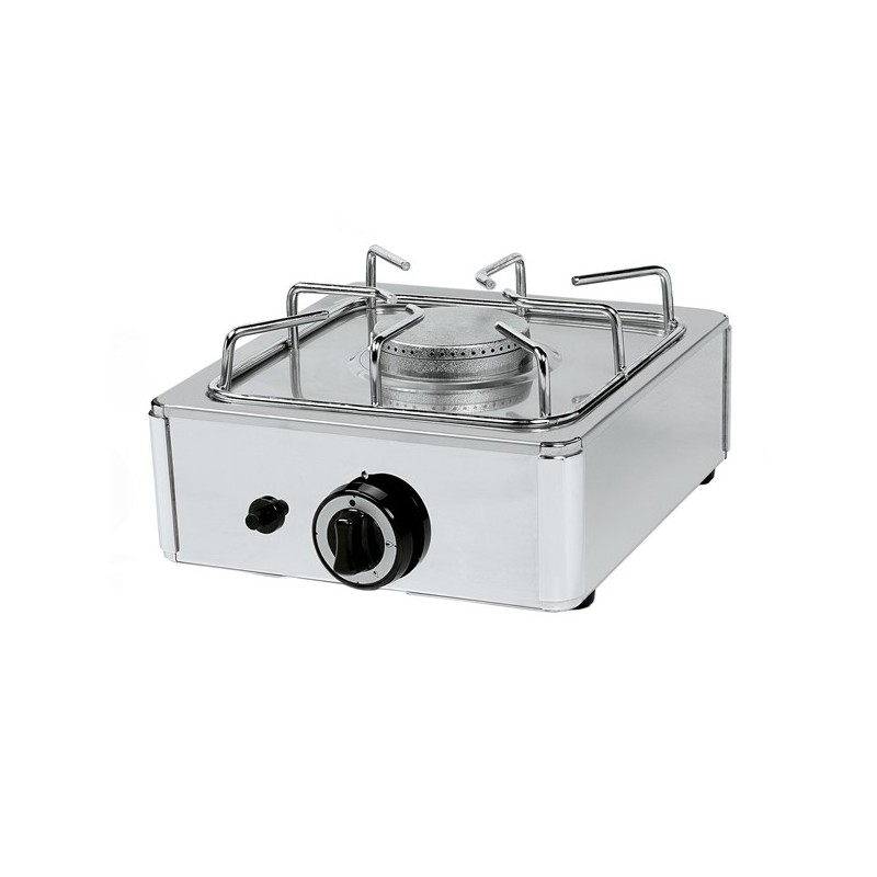 Cocina a gas de encimera con 1 quemador phg1 for Cocina encimera a gas