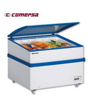 Arcón Congelador 362 L. Puerta de cristal 141x60x83