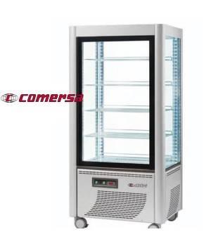 Armario refrigerador expositor acristalado 4 caras CMAP540REF