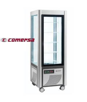 Armario refrigerador expositor acristalado 4 caras CMAP400REF