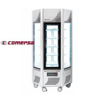 Armario congelador expositor acristalado 6 caras CMAPHEXAG