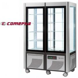Armario congelador expositor acristalado 4 caras CMAP800 fijo