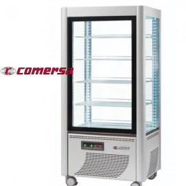 Armario congelador expositor acristalado 4 caras CMAP540 fijo