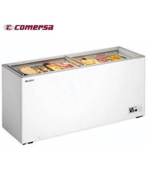 Arcón Congelador 488L.Puerta Corredera cristal 181x60x83
