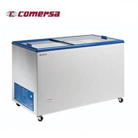 Arcon Congelador 327L.Puerta Corredera cristal 128x67x89.5