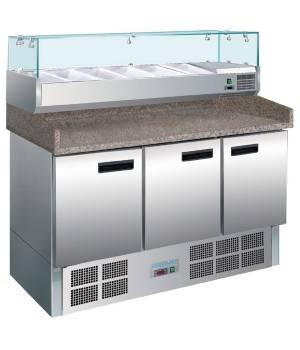 Mostrador preparación de pizza 368 litros NIG623