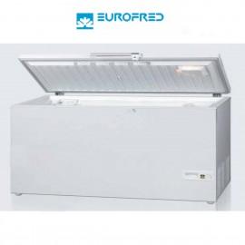 Arcon Congelador 476L. Puerta abatible 156x69.5x85 cm