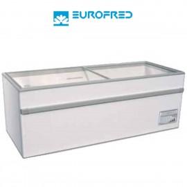 Congelador de tapa cristal corredera EFGAMMA150O de 493 L