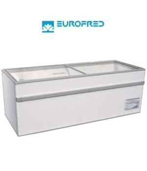 Arcon Congelador de tapa cristal corredera EFGAMMA200O de 698 L