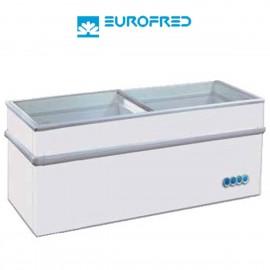 Congelador de tapa cristal corredera EFGAMMA150S de 595 L