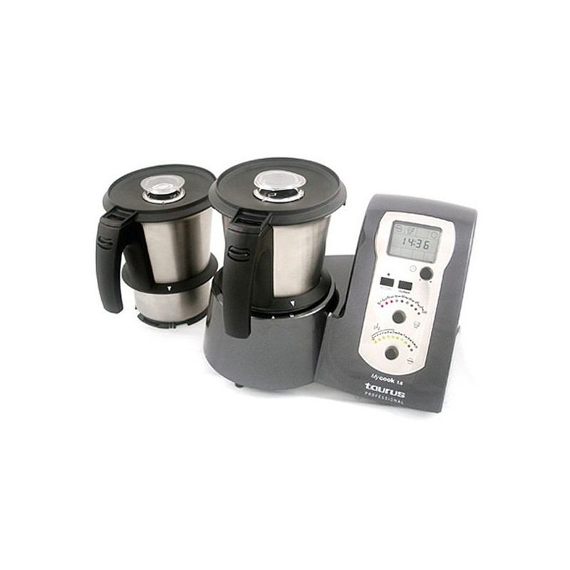 Robot de cocina pumycook1 8 para uso profesional con dos for Robot de cocina para amasar