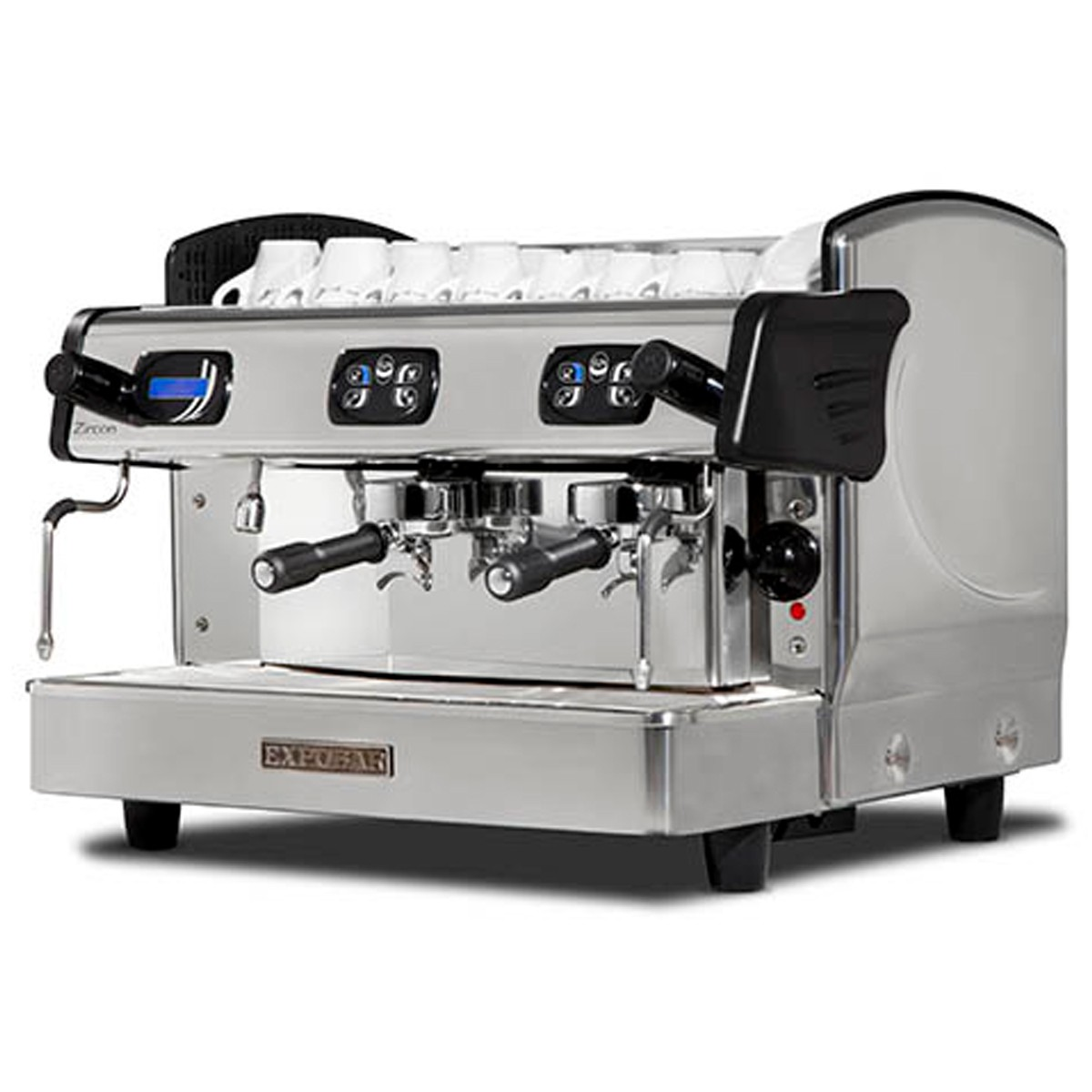 Máquina café ZIRCON DISPLAY CONTROL 2 grupos