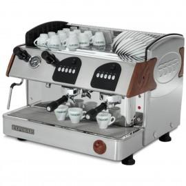 Máquina de café profesional MARKUS CONTROL 2 grupos madera
