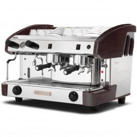 Máquina café profesional New elegance PULSER 2 grupos WENGUÉ