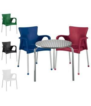 Mesa y sillas para terraza fashion3 conjunto 3sillas 1mesa for Oferta conjunto terraza