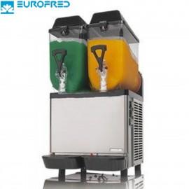 Máquina de granizados con 2 depósito de 10 litros