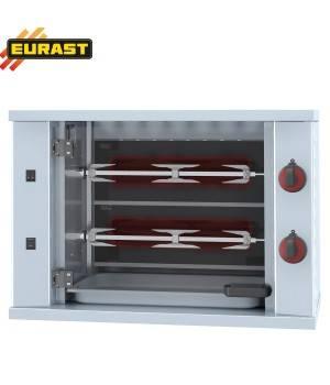 Asador de pollos vitrocerámico eléctrico (2 espada 6 pollos)