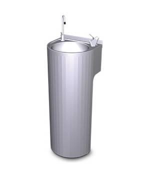 Fuente de agua de columna INOX hostelería