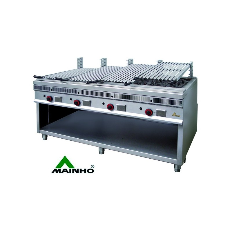Barbacoa industrial a gas acero inoxidable mhpsi160 - Barbacoas de acero ...