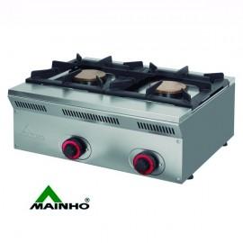 Cocina a gas MHECO-ELE62G de 50cm de fondo