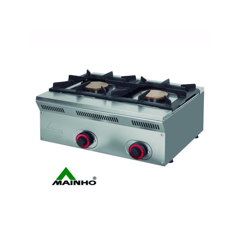 Cocina a g s mheco ele62g serie econ mica de dos fuegos y - Cocinas industriales a gas ...