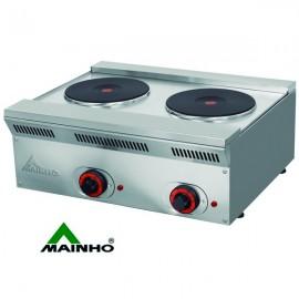 Cocina electrica MHECO-ELE62EM de 50cm de fondo