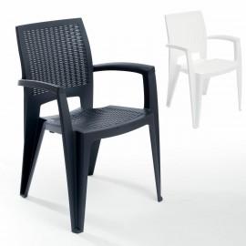 Mobiliario de hosteleria sillones de plastico for Homy sillas terraza