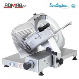 Cortadora de fiambres transmisión por engranajes ROAF300GR