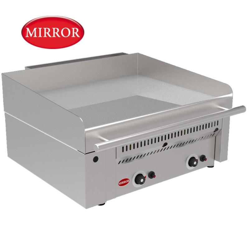 Plancha a gas de hosteleria placa de cromo duro - Plancha para cocina a gas ...
