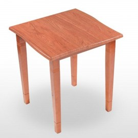 Mesa cuadrada de madera PP TOSCANA