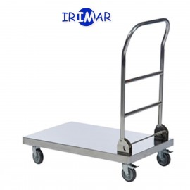 Carro plataforma Plegable acero inoxidable