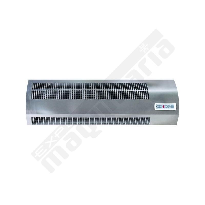 Cortina de aire ecin 20 con calefacci n el ctrica para bares - Calefaccion central electrica ...