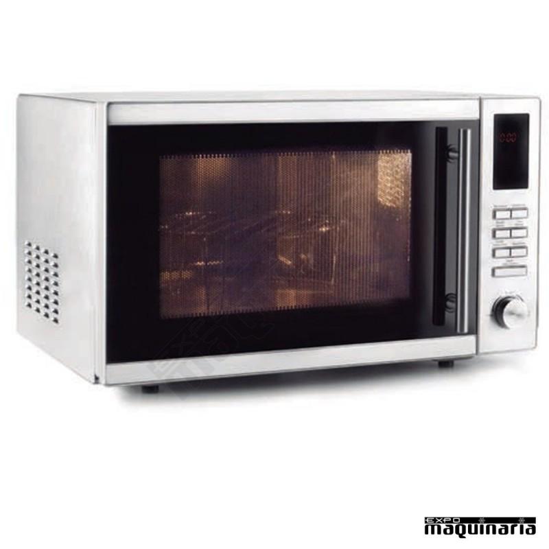 Horno microondas grill 25 litros for Horno combi microondas