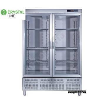 Armario snack frío 2puerta cristal CLARV12002